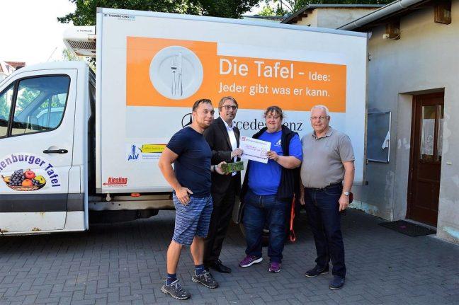 Spende Tafel SPD Oranienburg