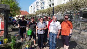 Beet Stolpersteine SPD Oranienburg