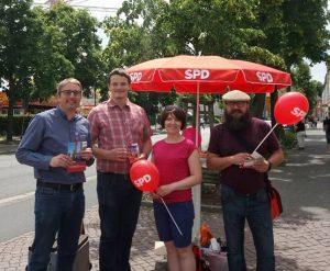 Mitglieder Stadtfest SPD Oranienburg
