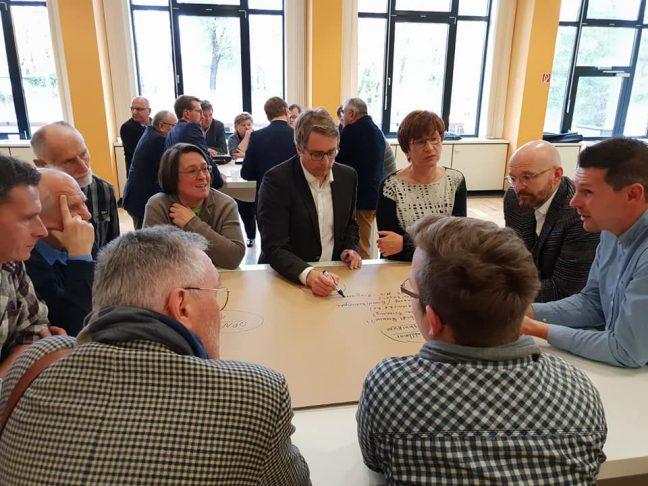 Klausur Mitglieder Diskussion SPD Oranienburg