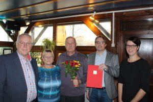 Ehrung Mitgliedschaft SPD Oranienburg