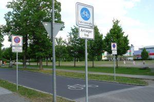 Stadt Straßen Fahrrad SPD Oranienburg