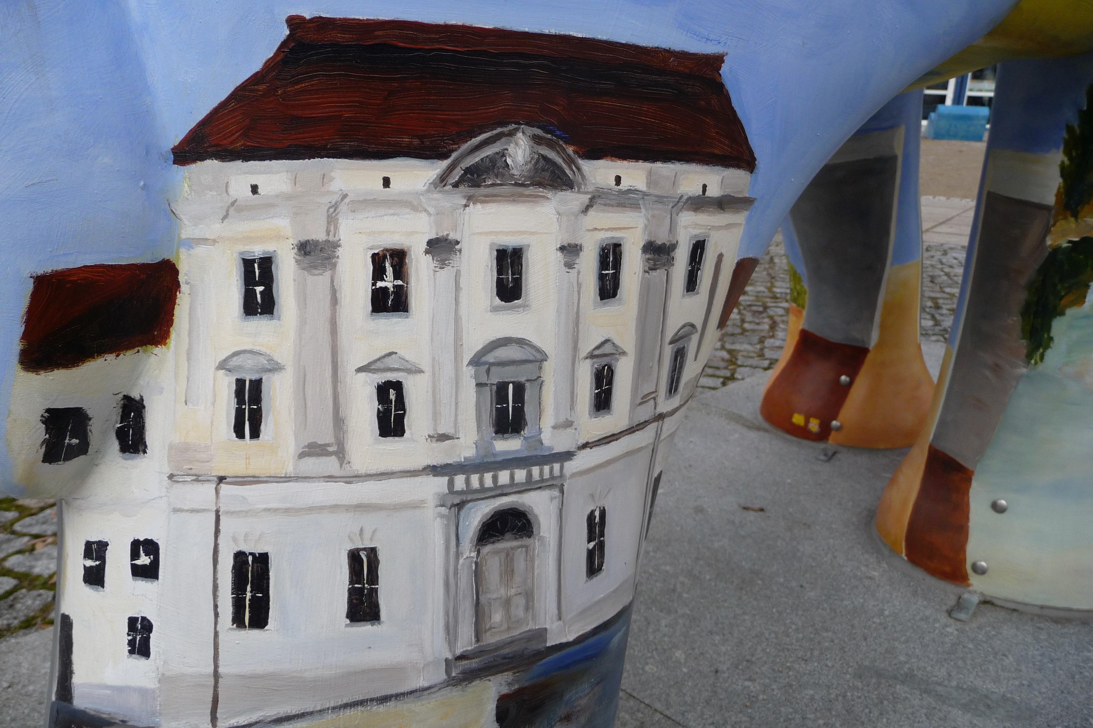 Stadt Schloss Elefant SPD Oranienburg