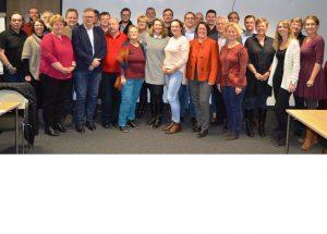 Mitglieder des SPD-Ortsverbandes Oranienburg