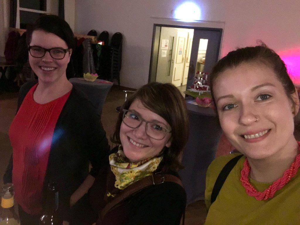 2019 Frauenwoche Gleichstellungsbeauftragte Oranienwerk Mareen Curran Judith Brandt Meike Kulgemeyer
