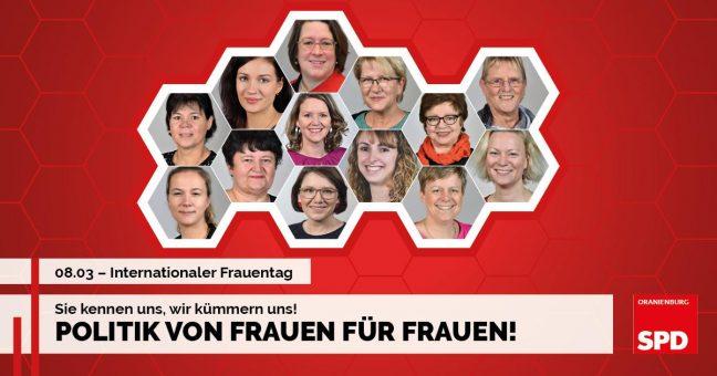 2019 Frauentag Portraitfotos SPD Oranienburg