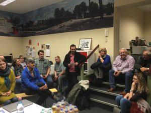 März 2019 Mitgliederversammlung im Bürgerbüro SPD Oranienburg