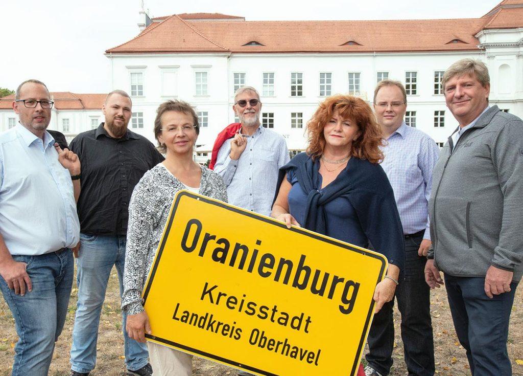 2019 Wahlkreis 4 Gruppenfoto SPD Oranienburg optimiert