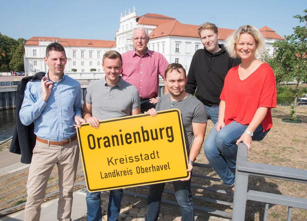 2019 Wahlkreis 5 Gruppenfoto SPD Oranienburg optimiert