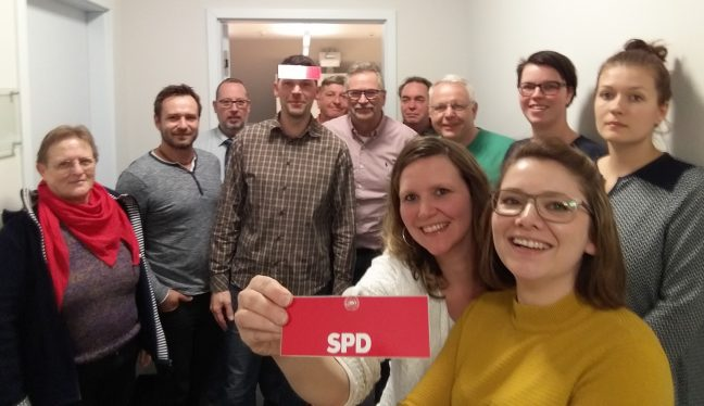 SPD Fraktion Oranienburg Sitzung April 2019