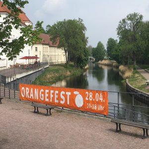 April 2019 Orangefest Plakat SPD Oranienburg