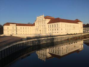 Mai 2019 Schloss Spiegelung Havel SPD Oranienburg