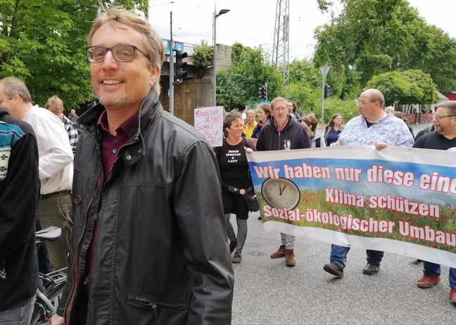 Juli 2019 Björn Lüttmann Fridays for future SPD Oranienburg