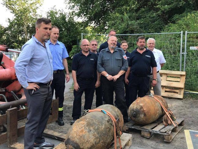 Juli 2019 Bombenentschärfung Oranienburg Laesicke Müller SPD Oranienburg