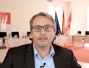 September 2019 Björn Lüttmann im Landtag