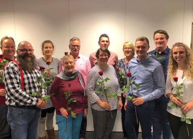 Oktober 2019 neuer Vorstand SPD Oranienburg