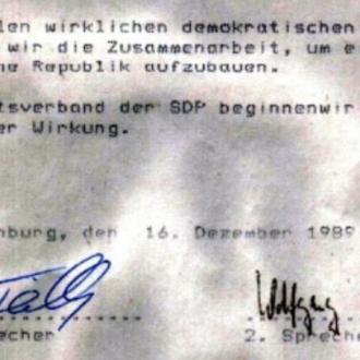 Dezember 2019 Mut zum Aufbruch SPD Oranienburg
